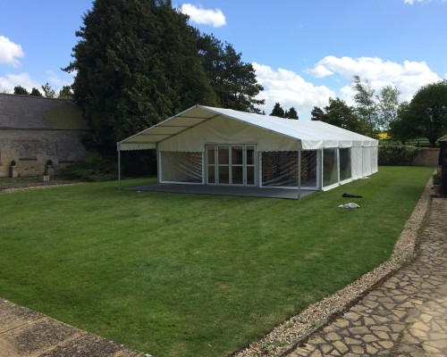 An image showing a Corporate Marquee in Wellingborough