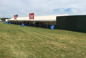 large bar marquee