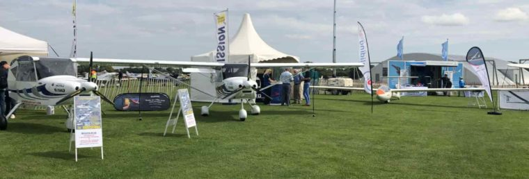 marquees at Sywell